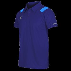 Koszulka VAPOUR POLO granatowo-niebieska