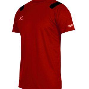 Koszulka VAPOUR TEE czerwono-czarna