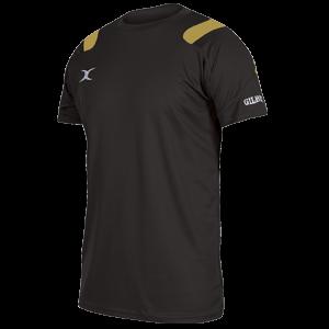 Koszulka VAPOUR TEE czarno-żółta
