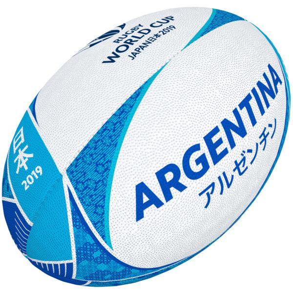 dc3f938e ARGENTYNA piłka SUPPORTER w rozmiarze 5 RWC JAPAN 2019 - GilbertPolska