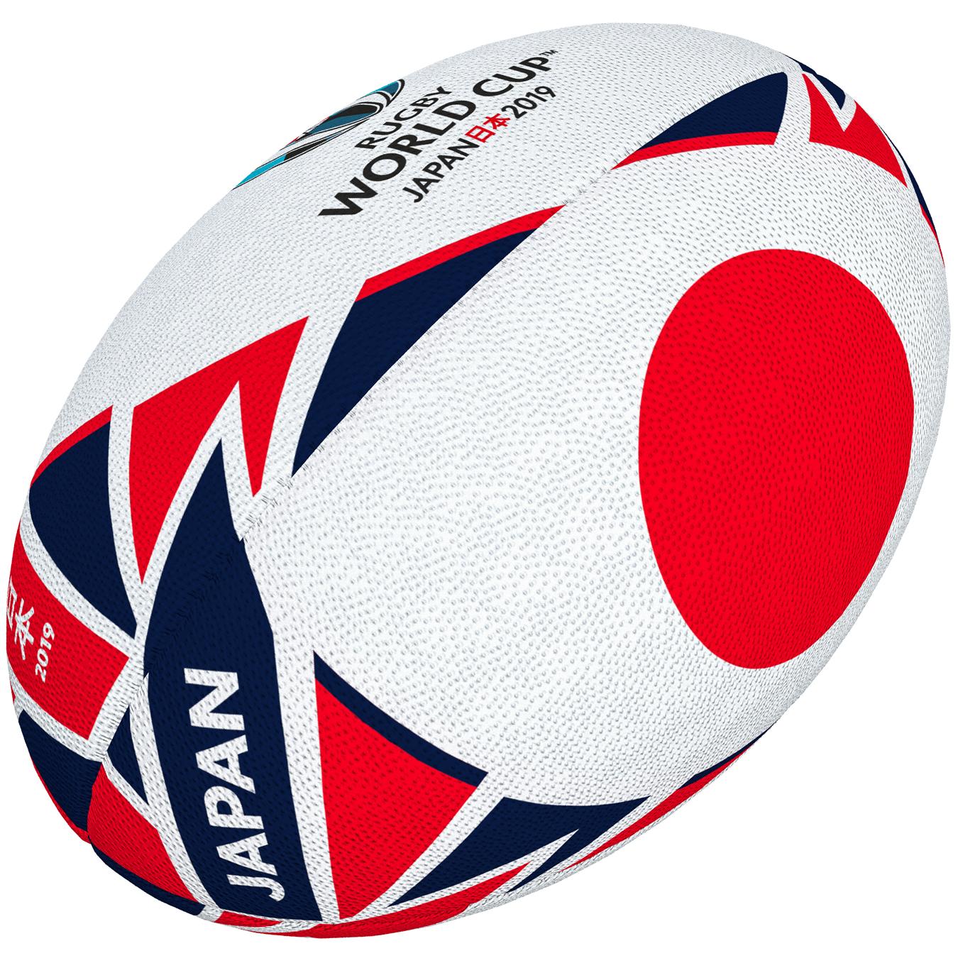 2adae0a2 JAPONIA piłka replika w rozmiarze MINI RWC JAPAN 2019 - GilbertPolska