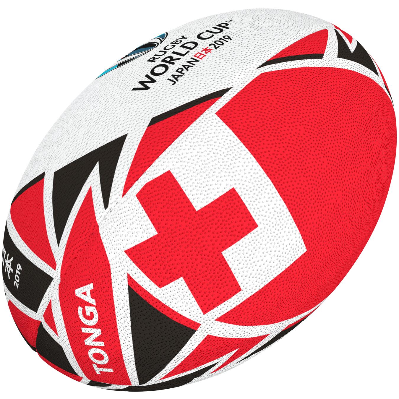 c8320615 TONGA piłka replika w rozmiarze 5 RWC JAPAN 2019 - GilbertPolska